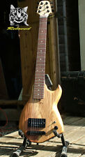 Reloved Guitars 'Oakcaster #7' unique custom electric travel guitar full scale