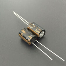10pcs 470uF 16V 8x11.5mm Panasonic FC Low ESR 16V470uF Audio grade Capacitor