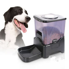LCD Display Programmable Portion Control Large Automatic Dog Cat Pet Food Feeder
