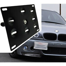Hottest Car Front Bumper Tow Hook License Plate Mounting Bracket Holder Support