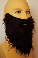Noir déguisement barbe, réaliste cheveux. pirate, viking, assistant, hippy, pantographe uk