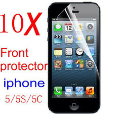 10pcs high Clear LCD Guard Shield Front Screen Protector Film for new iphone5 5s