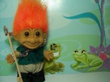 "FISHERMAN - 5"" Russ Troll Doll - NEW IN BAG  - Orange Hair"