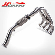 RACING PERFORMANCE EXHAUST HEADER for HYUNDAI TIBURON 2.0L 4CYL 97-01