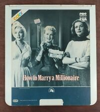 How to Marry a Millionaire - CED SelectaVision VideoDisc - From large collection