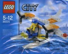 LEGO City Coast Guard Seaplane (#30225)(Polybag)(Retired 2013)(Very Rare)(New)