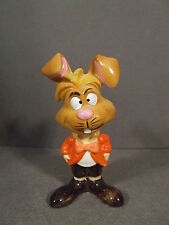 VINTAGE WALT DISNEY MARCH HARE ALICE IN WONDERLAND PORCELAIN FIGURINE JAPAN MARK