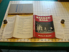 vintage book: The Barnes Sports Library: BASKETBALL BY Charles C. Murphy, 1939