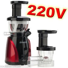 Tribest SlowStar 220V-240V Low Speed Vertical Juicer & Mincer Slow Star SW-2000