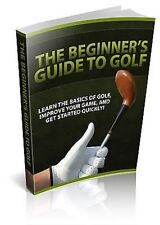 Guida per Principianti per GOLF PLUS quattro altri GOLF ebook su 1 CD-Gratis P&P