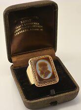 Antik Herrn Siegelring 585er 14 Karat Gold