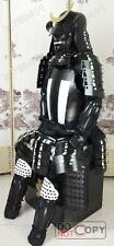 portable costume japonais Rüstung Art Samurai armure Iron & Silk blanc noir