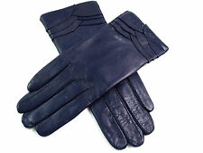 Ladies Womens Premium Quality Genuine Soft Leather Gloves Fur Lined Warm Winter