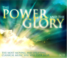 THE POWER AND THE GLORY NEW SEALED 3 CD SET MOVING AND UPLIFTING CLASSICAL MUSIC