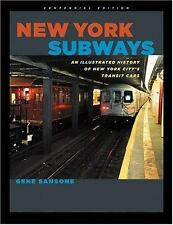 New York Subways: An Illustrated History of New York City's Transit Ca-ExLibrary