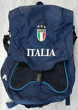 ZAINO ITALIA PUMA 2004 CALCIO RINGHIO GATTUSO CASUAL BACKPACK CARTELLA BAG ITALY
