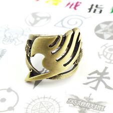 Anime Fairy tail Natsu Dragneel Guild Ring  Pendant Chain Adjustable bronze