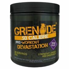 GRENADE 50 CALIBRE 232g 20 SERVINGS PRE WORKOUT KILLA KOLA COLA FREE TRACKED