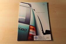 00425) VW Polo Variant Prospekt 04/1998