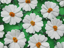 50! XXL Mulberry Paper Daisies - White Daisy Flower - Slight Seconds - 50mm/2""
