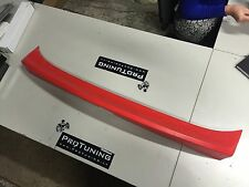 BMW E46 97-06 CSL style 2d boot trunk spoiler ducktail tuning lip add on rear m3
