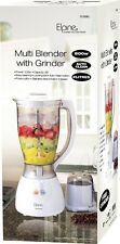 ELPINE 500W 2L ELECTRIC MULTI FOOD BLENDER WITH GRINDER SMOOTHIE PROCESSOR WHITE