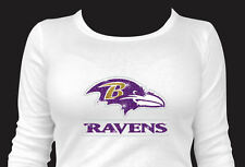 NFL - Baltimore Ravens - Bling - Iron-on Glitter Vinyl & Rhinestone Transfer
