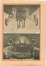 Aviation Aircraft Focke-Wulf Machine Gun Luftwaffe Germany 1932 ILLUSTRATION