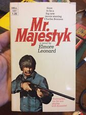 Mr Majestyk By Elmore Leonard Rare Paperback Charles Bronson Cover Movie