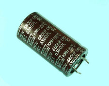 2pcs Nippon Chemi-Con KMH 680uF 250v Radial Electrolytic Capacitor NCC