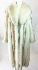 Saga Fox Fur Long Coat / Saga Fox Fur Coat / Fox Fur Coat / Fur Coat/Fox&leather