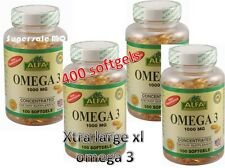 OMEGA 3 OMEGA 3 XL 400 SOFTGELS concentrated AntiInflammatory CONCENTRATED OMEGA