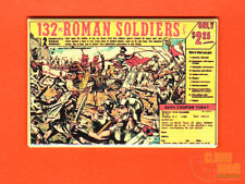 "Roman Soldiers comic book ad 2x3"" fridge/locker magnet toys"