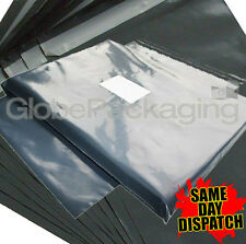 """20 x STRONG GREY POSTAL MAILING BAGS 10x12"""" MAILERS"""