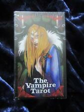 THE VAMPIRE TAROT - NEW & SEALED - Nathalie Hertz. Undead Gothic Blood