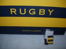 Awesum Retired Ralph Lauren Rugby mens boys silk knot cuff links NWT