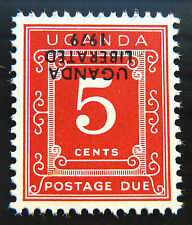UGANDA 1979 5c Postage Due Liberation with INV/OPT U/M D1 NEW LOWER PRICE  997