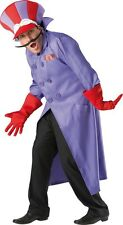 FANCY DRESS COSTUME ~ WACKY RACES DICK DASTARDLY MED/LG