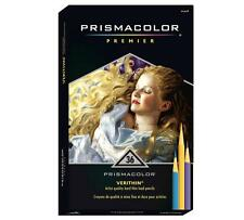 Prismacolor Premier Verithin Colored Pencils - Thin Lead - 36 Color Set
