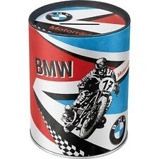 Salvadanaio,BMW, box metal, metal money, rosso, blu, bianco, red, white, blue
