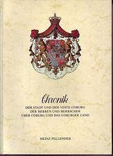 Chronik/Heimatbuch = Der Stadt un der Veste Coburg/165 Abbild.+5 Farbtafeln/1985