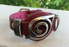 Leather Cosplay Naruto Anime Studded Adjustable Buckle Men's Women's Bracelet