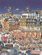 "Hiro Yamagata       ""Key Largo City Lights""       Lithograph on Paper   BA"