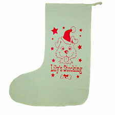 Doggy stocking, personalised Christmas dog stocking, doggy treats, Christmas,