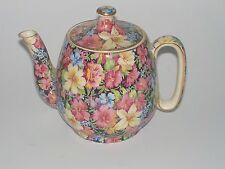 ROYAL WINTON FLORENCE CHINTZ  TEAPOT--DATED 1953