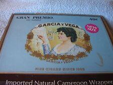 CIGAR BOX La Flor De GARCIA y VEGA Fine Cigars 1882 Gran Premio Empty