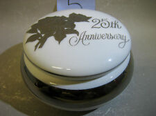 25th Anniversary SAJI Japanese fine china trinket box