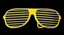 YELLOW SUMMER SUN GLASSES SHADES SHUTTER BELT BUCKLE BOUCLE  DE CEINTURE