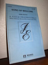 Choral Music: Song of Welcome by Madden-A Joyce Eilers Edition - 2-Part (Jenson)