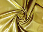 GOLD BLACK METALLIC SPARKLE FABRIC WAISTCOAT WEDDING DECOR TABLECLOTH BOW SASHES